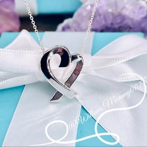 Tiffany & Co. Picasso Large Loving Heart Pendant